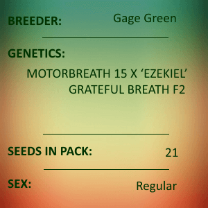 Gage Green-7th Heaven 21 seed pack