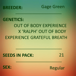 Gage Green-Magnetism 21 seed pack