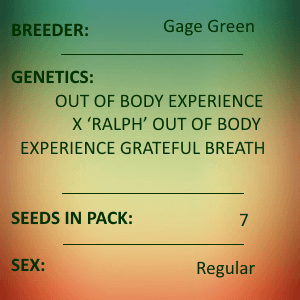 Gage Green-Magnetism 7 seed pack