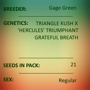 Gage Green-Trickster 21 seed pack