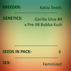 Katsu Seeds - Dracarys