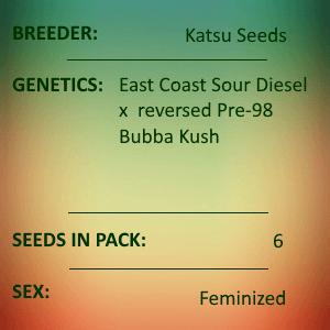 Katsu Seeds - Sour Bubba