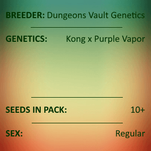 Dungeons Vault Genetics - Sour Purple Funk