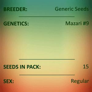 Generic Seeds - Mazari #9