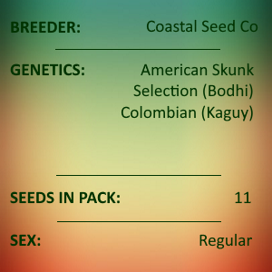 Coastal Seed Co - American Skunk Colombian