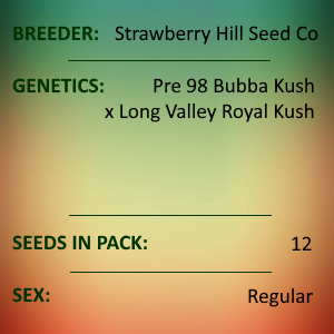Strawberry Hill Seed Co - Bubba Royale