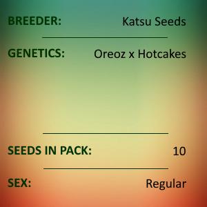 Katsu Seeds - Oreoz Layer Cake