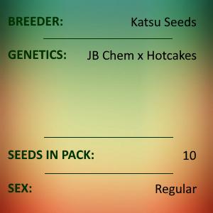 Katsu Seeds - Stacked Chem Cake